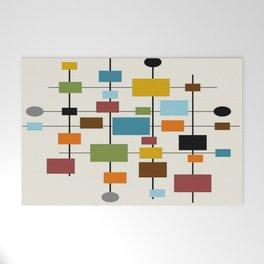 Mid-Century Modern Art 1.3 Welcome Mat