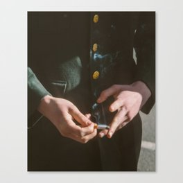 Cigarette Canvas Print