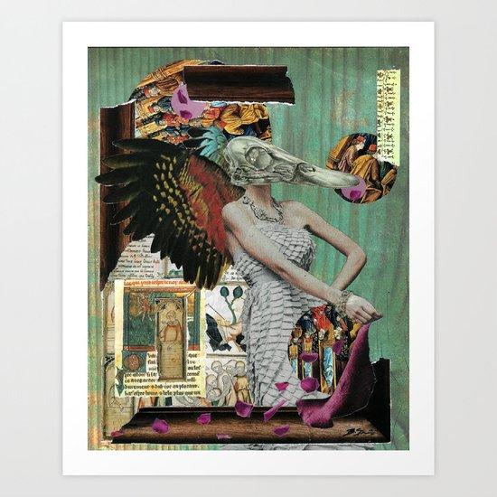 Angel of Decay Art Print