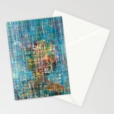 grid portrait Stationery Cards