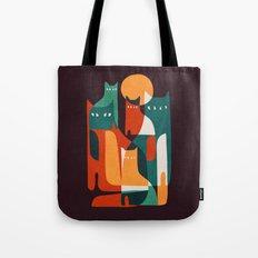 Cat Family Tote Bag