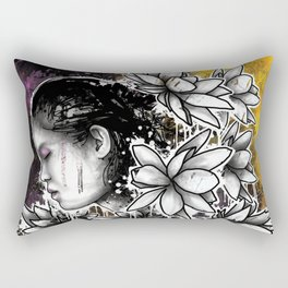 Above The Turmoil Rectangular Pillow