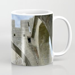 arches and arcades of the City of Carcassonne Coffee Mug