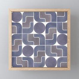 MONTE ALBÁN MOD (ECLIPSE), pattern by Frank-Joseph Framed Mini Art Print