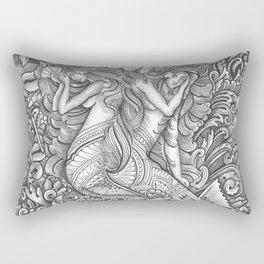 Taema ma Tilafaiga Rectangular Pillow
