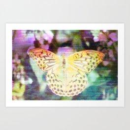 Electronic Wildlife Art Print