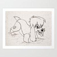 Pooka Art Print