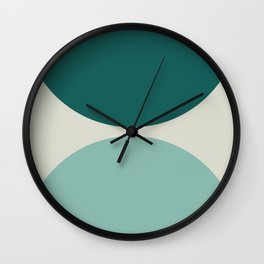 Abstract Geometric 20 Wall Clock