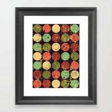Circles 2 Framed Art Print