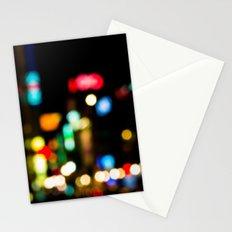 Shibuya Bokeh Lights Stationery Cards