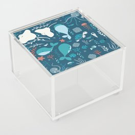Sea creatures 004 Acrylic Box