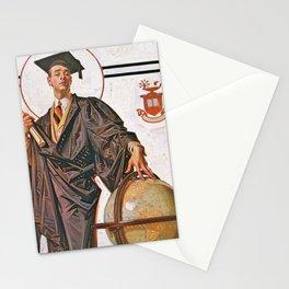 Joseph Christian Leyendecker - June Graduation - Digital Remastered Edition Stationery Cards