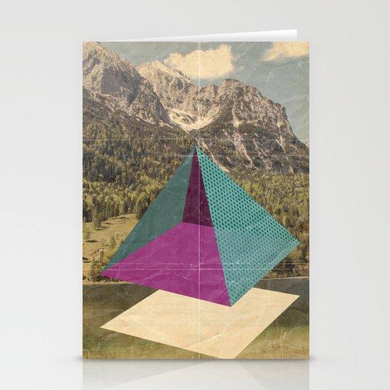 piramidi&nuvole Stationery Cards