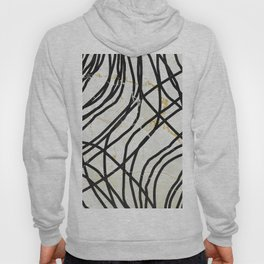 Abstract Mess - minimal, marbled, simple, modern design Hoody