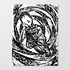 Twisted Child Canvas Print