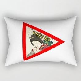 Geisha Girl Rectangular Pillow