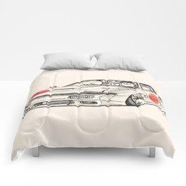 Crazy Car Art 0182 Comforters