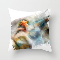 The Last Dance, dancer Throw Pillow