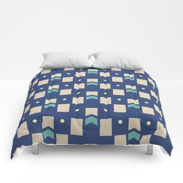 Art Deco Geometric Pattern 272 Comforters