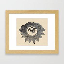 Vintage Magic Eye Framed Art Print