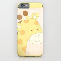 Giraffe Jungle Series Print Slim Case iPhone 6s