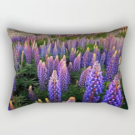 LUPINES FIELD Rectangular Pillow