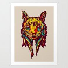 BE RARE* - Iberic Lince Art Print