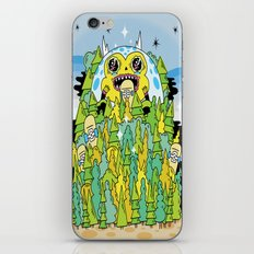 The Monster of Skate Forest iPhone & iPod Skin