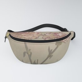 Abstract Vintage Flower 02 Fanny Pack