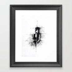 Amy Sketch Framed Art Print