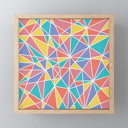 Colorful Chaos Framed Mini Art Print