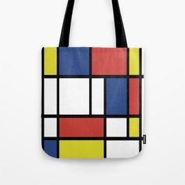 Mondrian 2 Tote Bag