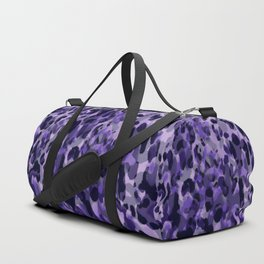 purple leopard in layers Duffle Bag