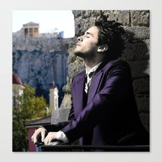Jared and The Acropolis Canvas Print