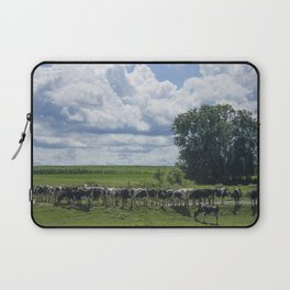 Cows In A Line Laptop Sleeve