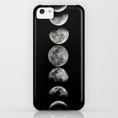 Phases of the Moon iPhone 5c Slim Case