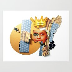 Skin Deep | Collage Art Print