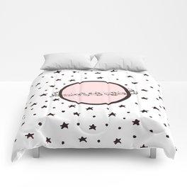 Pink Saturn Comforters