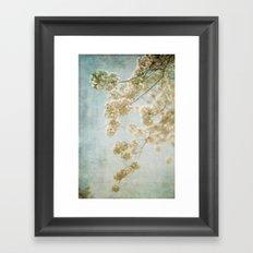 Blessings - Cherry Blossoms Framed Art Print