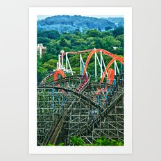 Hershey Park Art Print