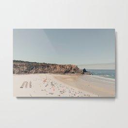 Beach Summer Love (two) Metal Print