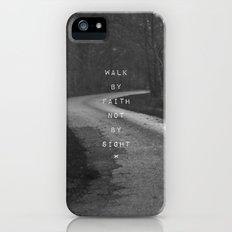 Faith not Sight iPhone (5, 5s) Slim Case