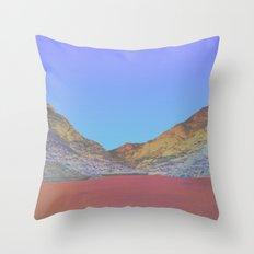 Chromascape 11: Snowdon Throw Pillow