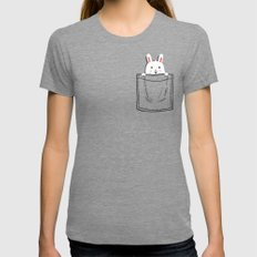 My Pet Tri-Grey MEDIUM Womens Fitted Tee