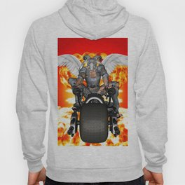 Biker of the Apocalypse-Conquest Hoody