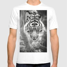 Tiger Tiger Mens Fitted Tee White MEDIUM