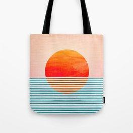 Minimalist Sunset III Tote Bag