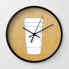 (More) Coffee Wall Clock