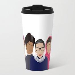 Feminist Squad Goals Travel Mug