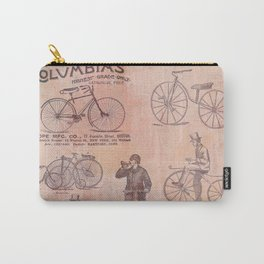 Vintage Bicycle Poster Carry-All Pouch